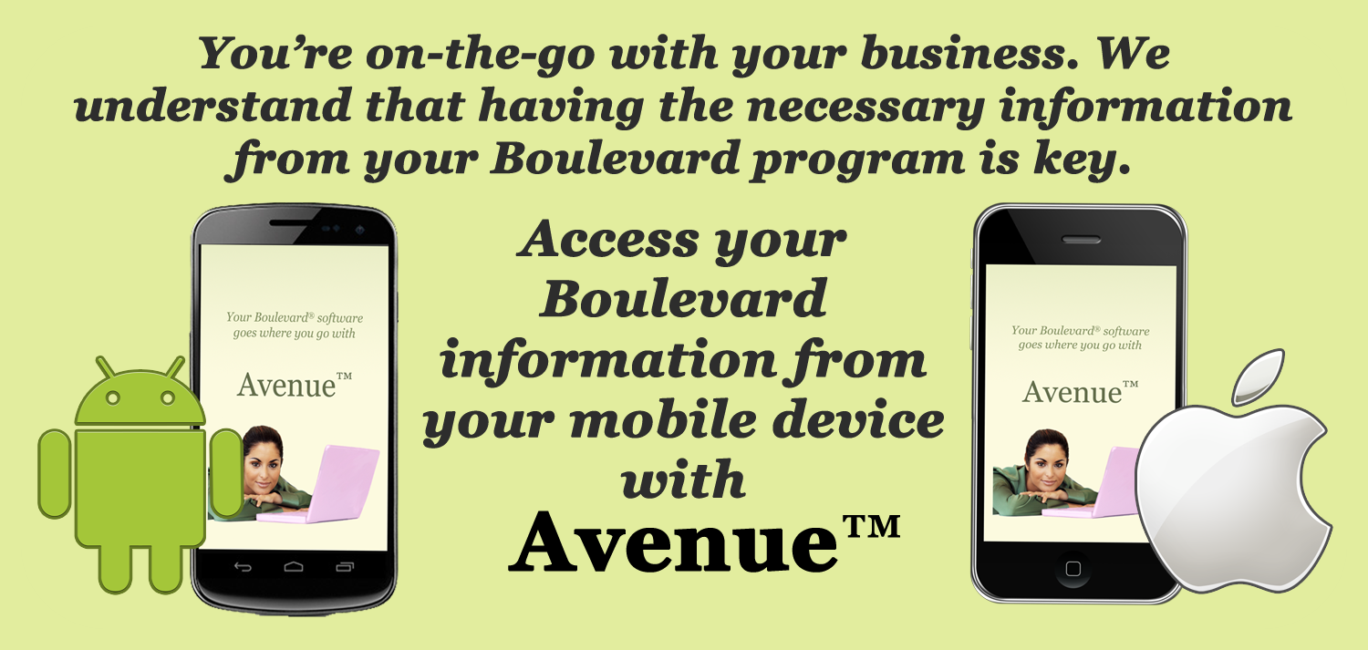 Keep Your Business Mobile with Avenue for Android and iPhone