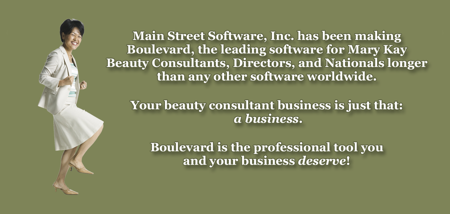 Boulevard Software for Your Mary Kay Business