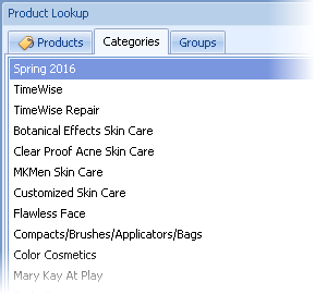 Product Lookup