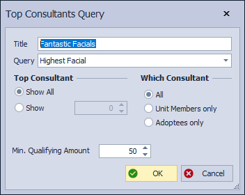 Top Consultants Query